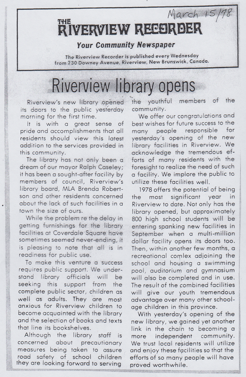 1978 Mar RiverviewLibraryOpened Coverdalesquare