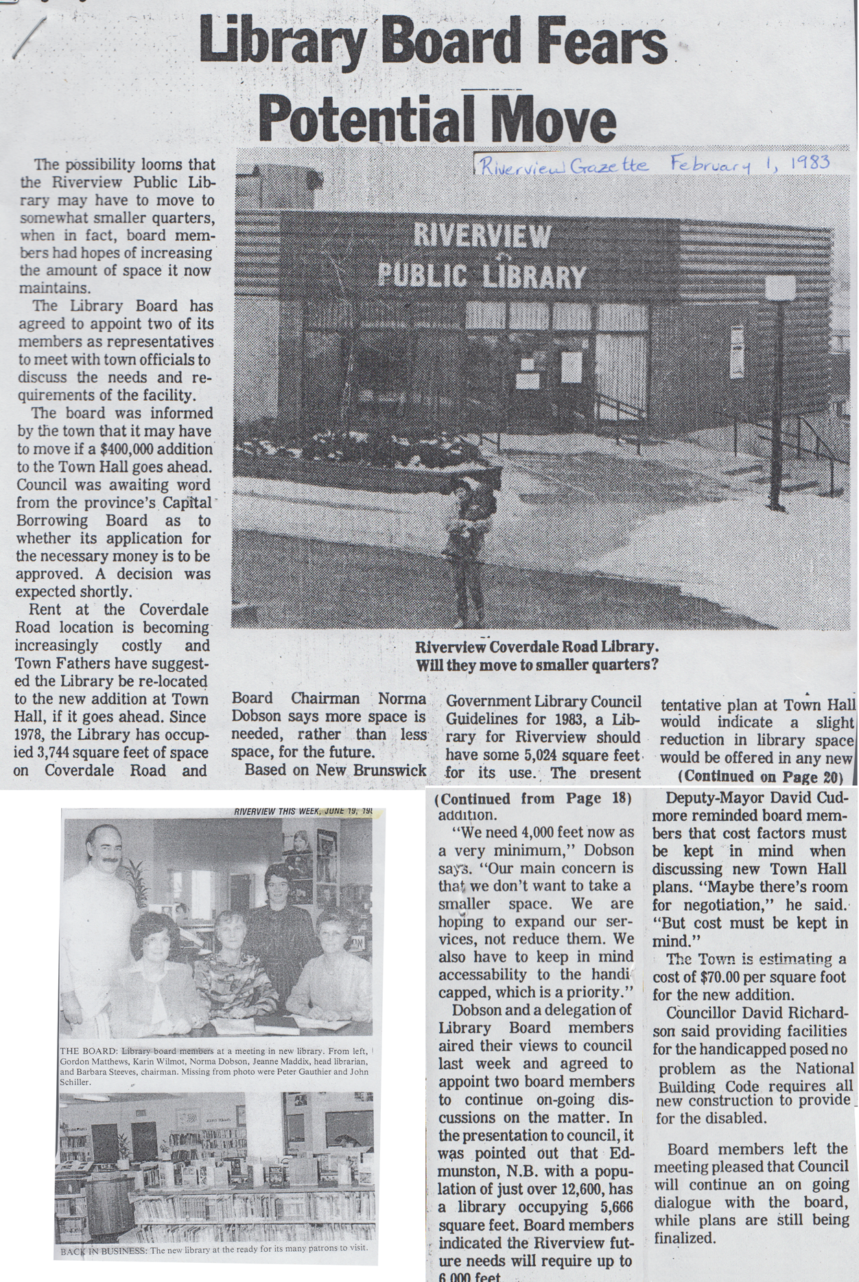 1983 Feb LibraryOpening