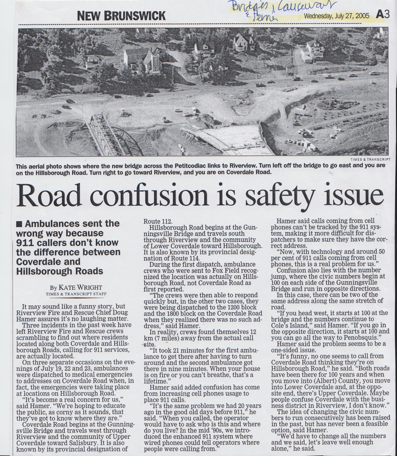 2005July RoadConfusionIsSafetyIssue