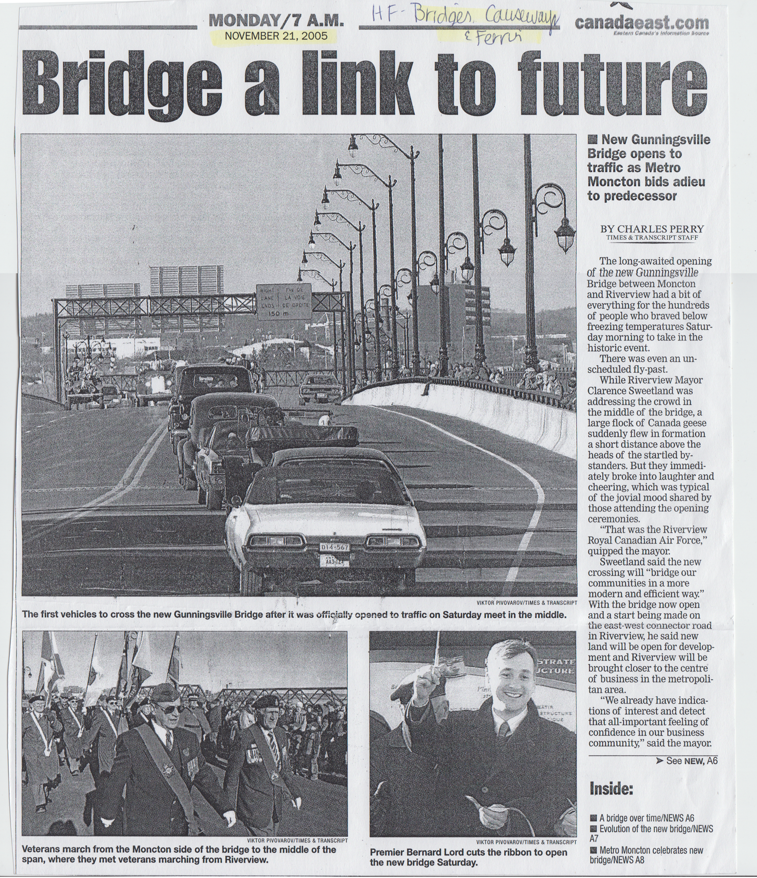 2005Nov BridgeALinkToFuture