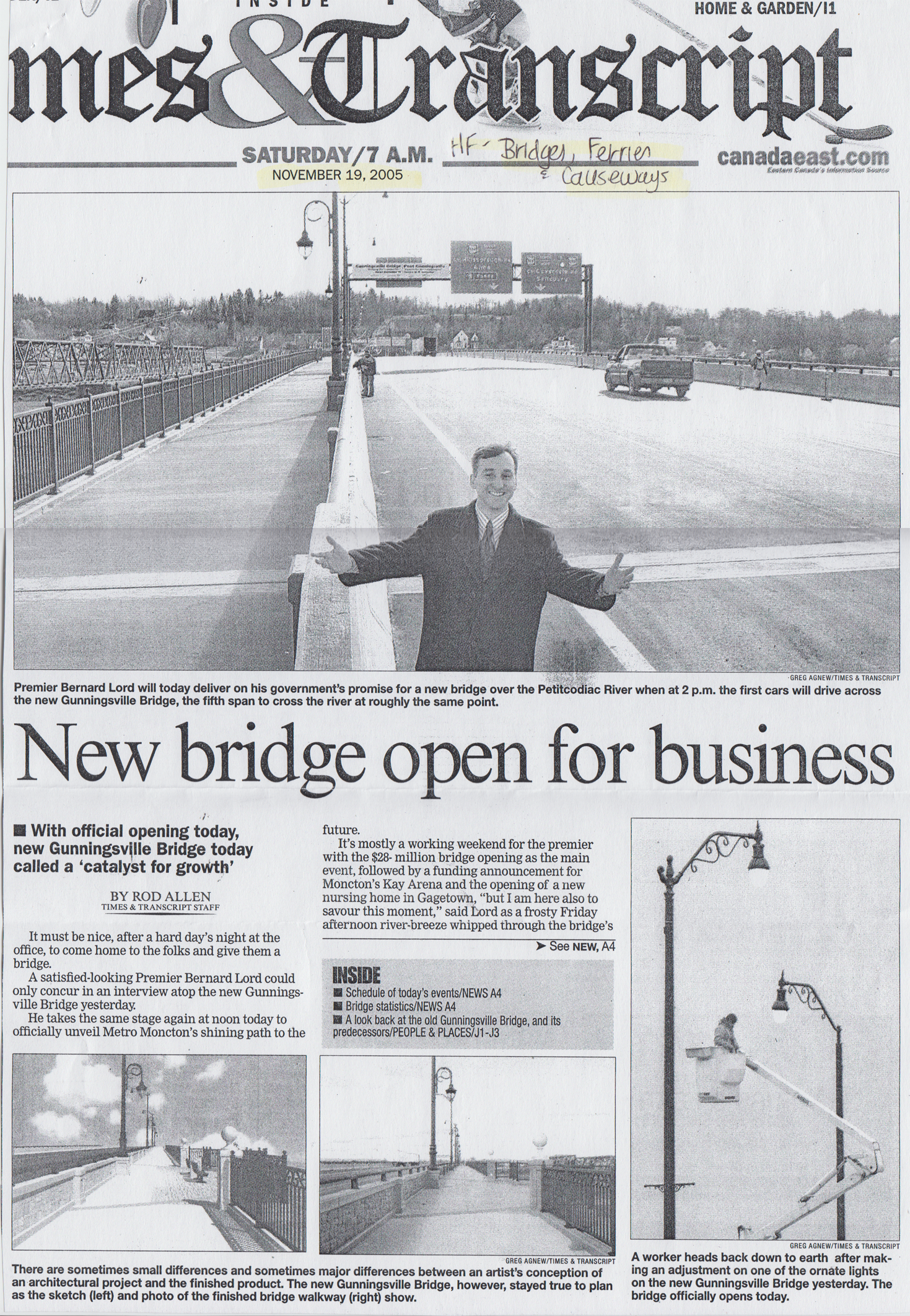 2005Nov NewBridgeOpenForBusiness p1