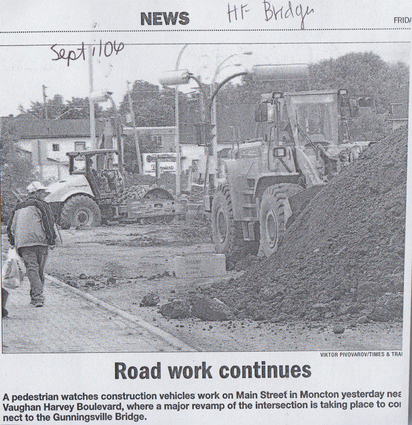 2006Sept RoadWorkContinues